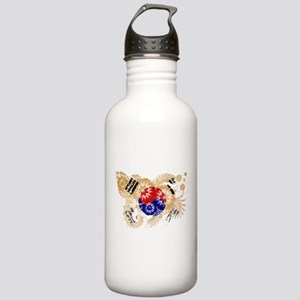 South Korea Flag Stainless Water Bottle 1.0L